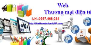 Nên thiết kế website thương mại điện tử hay thiết kế website bán hàng