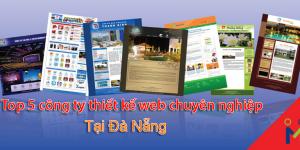 Top 5 công ty thiết kế website tốt nhất tại Đà Nẵng uy tín chuyên nghiệp 2017