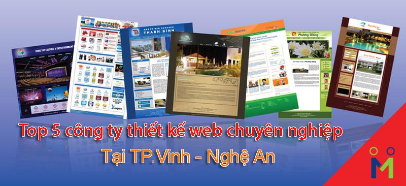 Top 5 công ty thiết kế website uy tín, chuyên nghiệp tốt nhất tại Vinh – Nghệ An