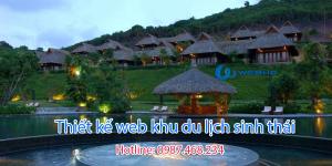 Thiết kế web khu du lịch sinh thái