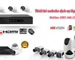 Thiết kế web lắp đặt camera chuyên nghiệp