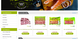Tổng hợp mẫu giao diện thiết kế web bán hàng thực phẩm đẹp nhất