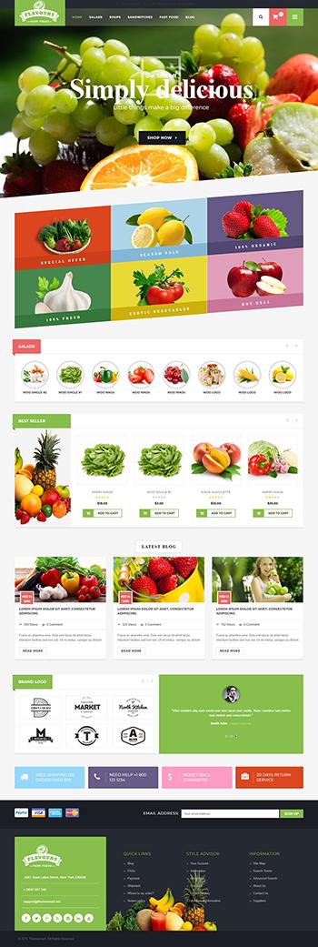 Thiết kế web bán hàng trái cây sạch
