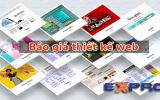 Báo giá thiết kế website trọn gói