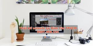 Thiết kế website tại Quận Bình Tân Thành phố Hồ Chí Minh