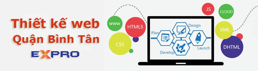 Thiết kế website Bình Tân HCM