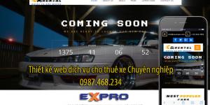 Thiết kế web dịch vụ cho thuê xe ô tô chuyên nghiệp chuẩn SEO