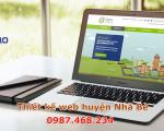 Thiết kế website tại Huyện Nhà Bè chuyên nghiệp, cực ấn tượng TPHCM