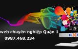 Thiết kế web tại Quận 1 – TP. Hồ Chí Minh