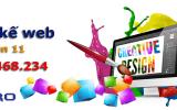 Thiết kế web quận 11 Thành phố Hồ Chí Minh chuyên nghiệp top Google