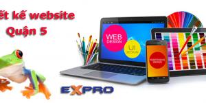 Thiết kế web tại Quận 5 uy tín chuyên nghiệp