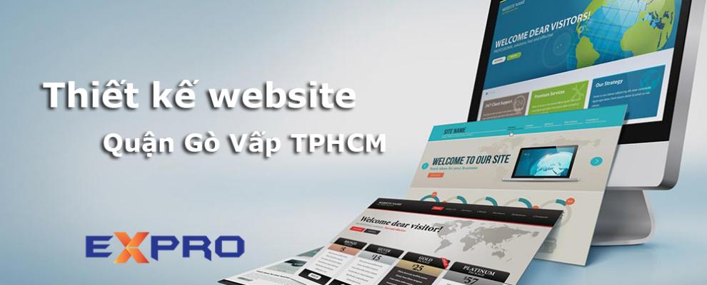 Thiết kế website tại Quận Gò Vấp Thành Phố Hồ Chí Minh – Expro Việt Nam