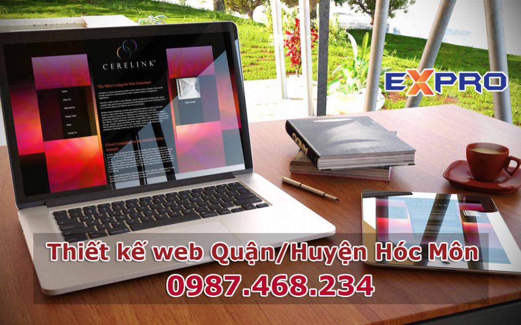 Thiết kế web quận huyện Hóc Môn