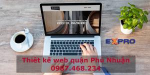 Thiết kế web tại Quận Phú Nhuận uy tín chuyên nghiệp TPHCM
