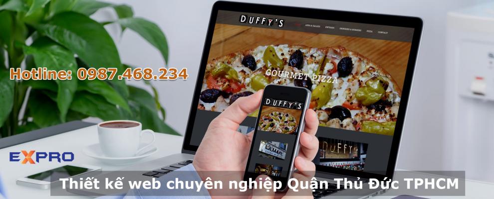 Thiết kế website chuyên nghiệp tại Quận Thủ Đức Thành Phố Hồ Chí Minh