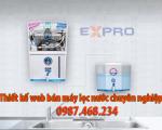 Thiết kế web bán máy lọc nước chuyên nghiệp top Google