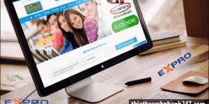Thiết kế web trung tâm ngoại ngữ uy tín chuyên nghiệp