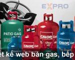 Thiết kế web bán gas, bếp gas chuẩn SEO top Google
