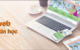 Thiết kế web trung tâm tin học chuyên nghiệp dễ lên Top Google