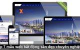 Top 7 mẫu website bất động sản đẹp và chuẩn SEO Google