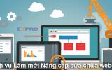 Thiết kế lại trang web, nâng cấp website mang lại hiệu quả cao