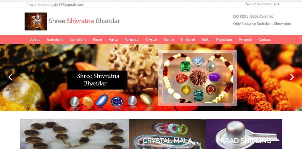 Thiết kế website bán hàng đồ phong thủy
