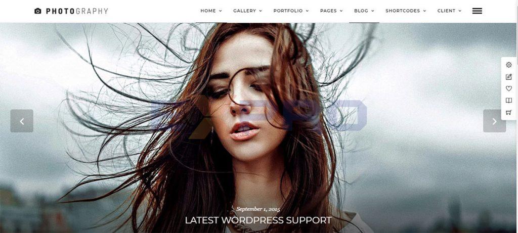 Thiết kế web nghệ thuật nhiếp ảnh chuyên nghiệp