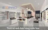 Thiết kế web bán nước hoa chuyên nghiệp độc đáo