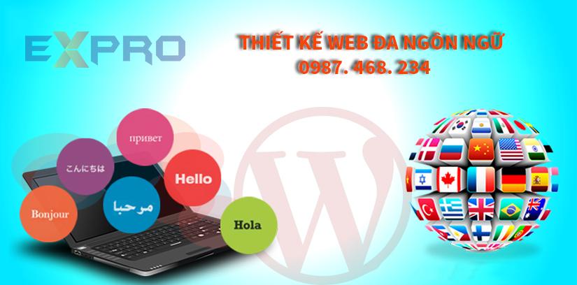 Thiết kế web đa ngôn ngữ