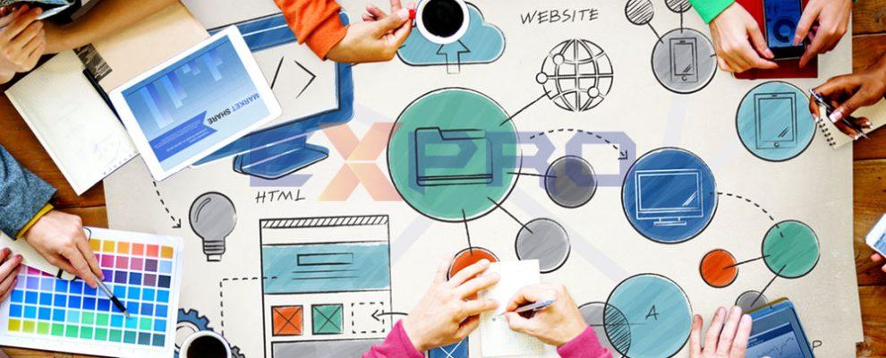 Quy trình thiết kế web cao cấp tại Expro Việt Nam như thế nào?