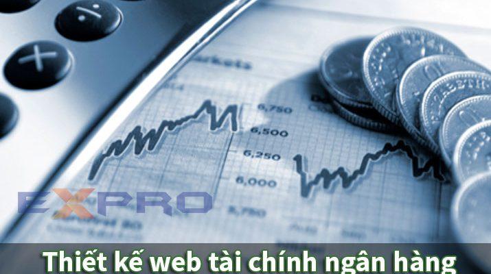 Thiết kế web tài chính, ngân hàng chuyên nghiệp, tính bảo mật cao