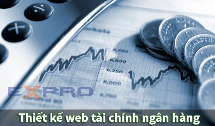 Thiết kế web tài chính ngân hàng