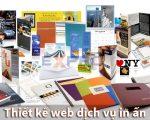 Thiết kế web dịch vụ in ấn dễ lên top Google