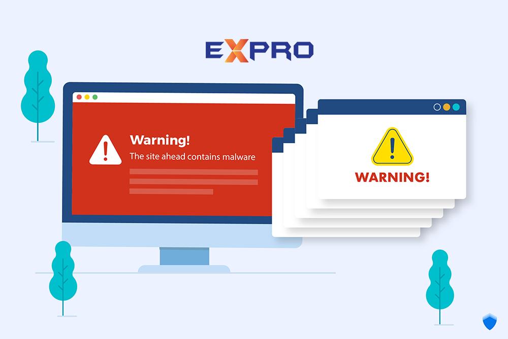 Cách nhận biết nếu website của bạn đã bị hack hoặc nhiễm virus