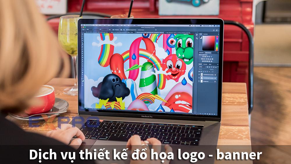 Thiết kế đồ họa logo banner website bộ nhận dạng thương hiệu