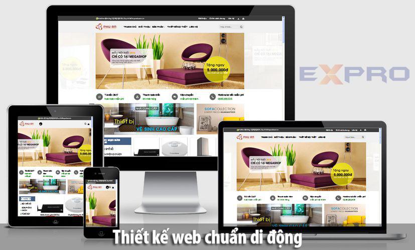 Thiết kế web chuẩn di động