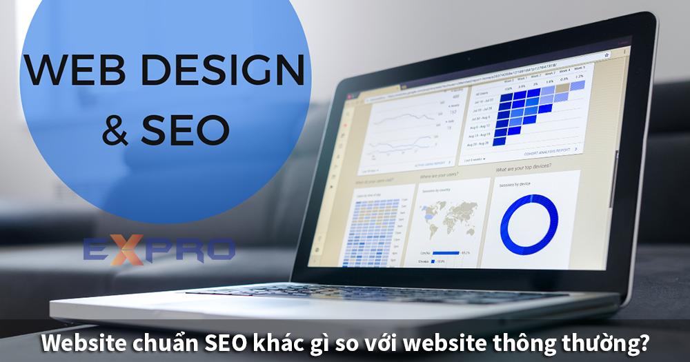 Website chuẩn SEO khác gì so với website thông thường?