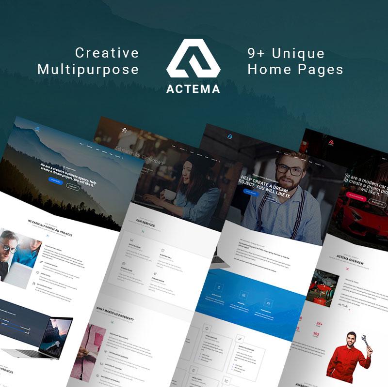 Actema – Creative business Multipurpose wordpress Theme
