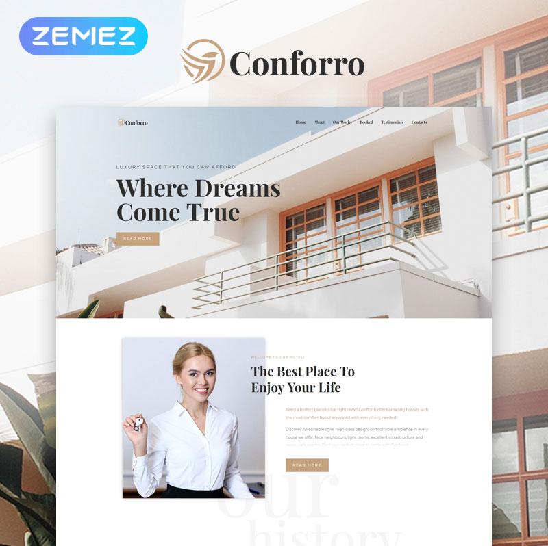 Conforro – Real Estate Elementor WordPress Theme