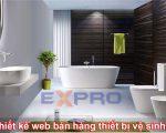 Thiết kế web bán thiết bị vệ sinh cao cấp chuyên nghiệp