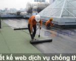 Thiết kế web dịch vụ chống thấm