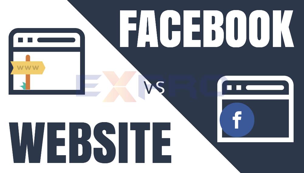 Nên thiết kế web hay chỉ cần tạo Fanpage Facebook