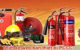 Thiết kế web bán thiết bị phòng cháy chữa cháy chất lượng