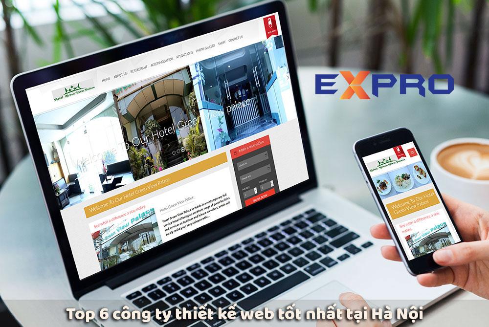 Top 6 công ty thiết kế web chuyên nghiệp uy tín tại Hà Nội