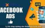 Tại sao chạy quảng cáo facebook ads bị từ chối?