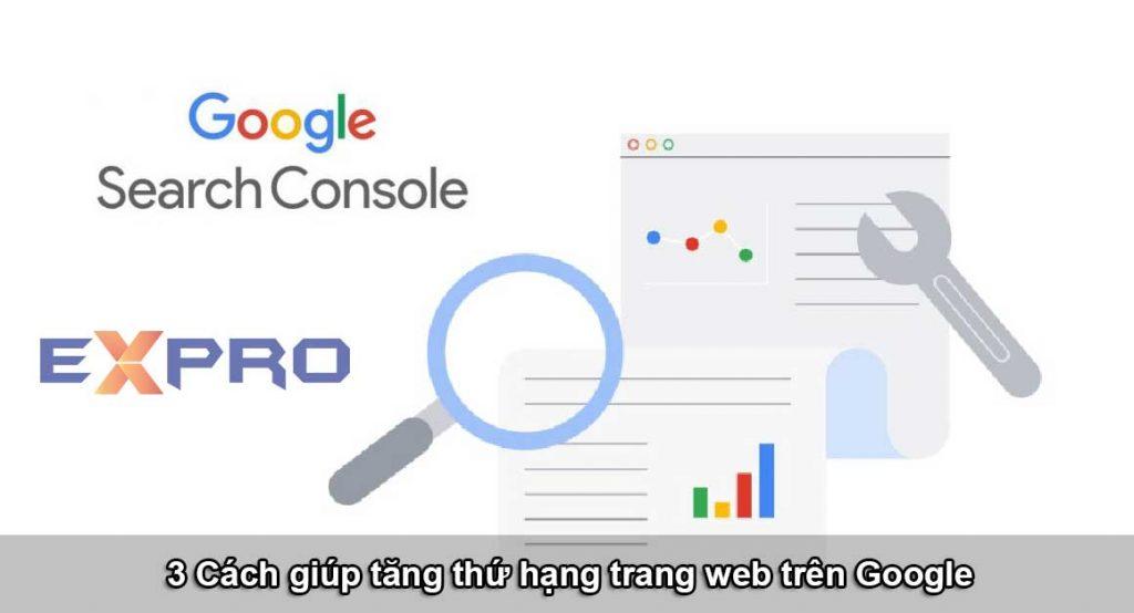 3 cách giúp tăng thứ hạng trang web trên google