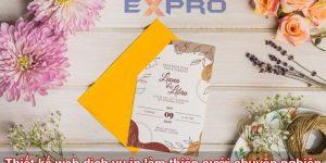 Thiết kế web in thiệp cưới giá rẻ