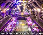 Thiết kế web quán karaoke đẹp chuyên nghiệp