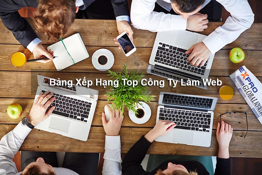 Bảng xếp hạng công ty thiết kế web chuyên nghiệp tại Biên Hòa - Đồng Nai