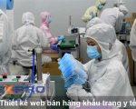 Thiết kế web bán hàng khẩu trang y tế chuyên nghiệp chuẩn SEO